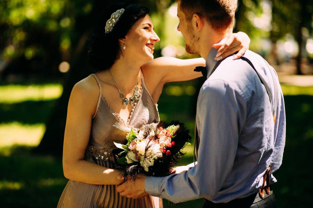 Свадебная фотосессия в ретро стиле