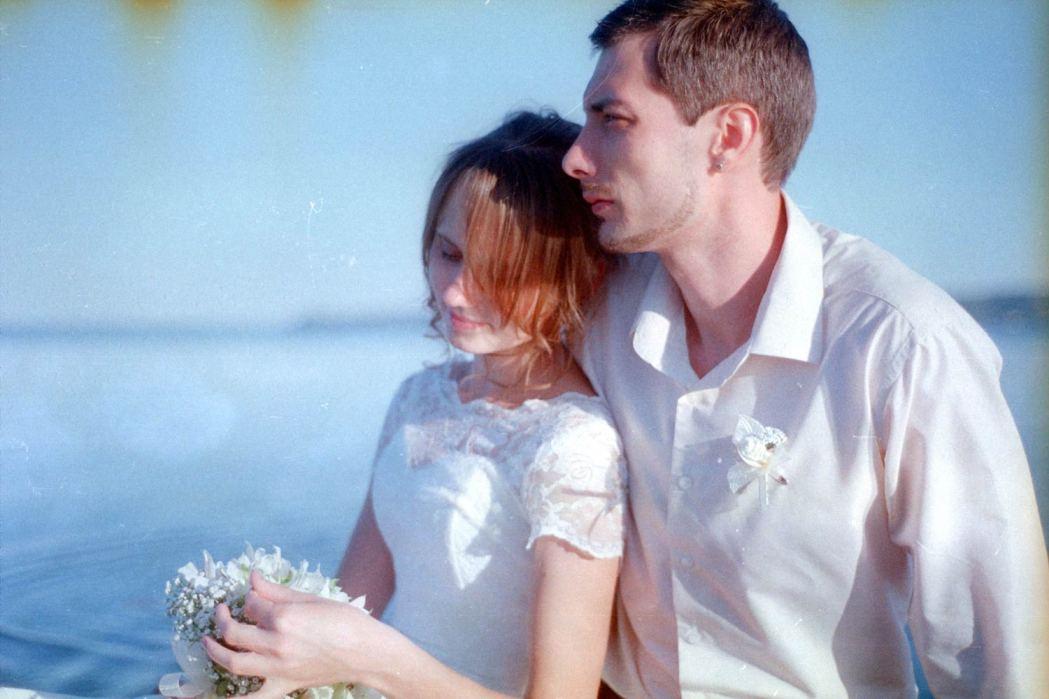 Свадебная фотосессия на пленку
