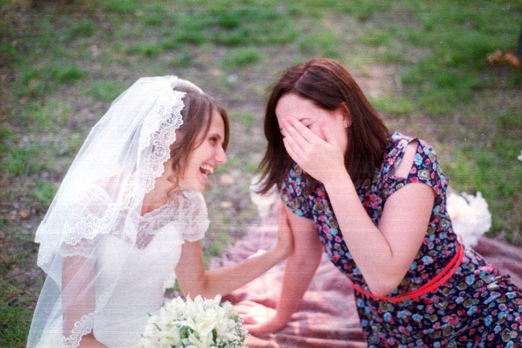 Свадебная фотосессия на фотопленку
