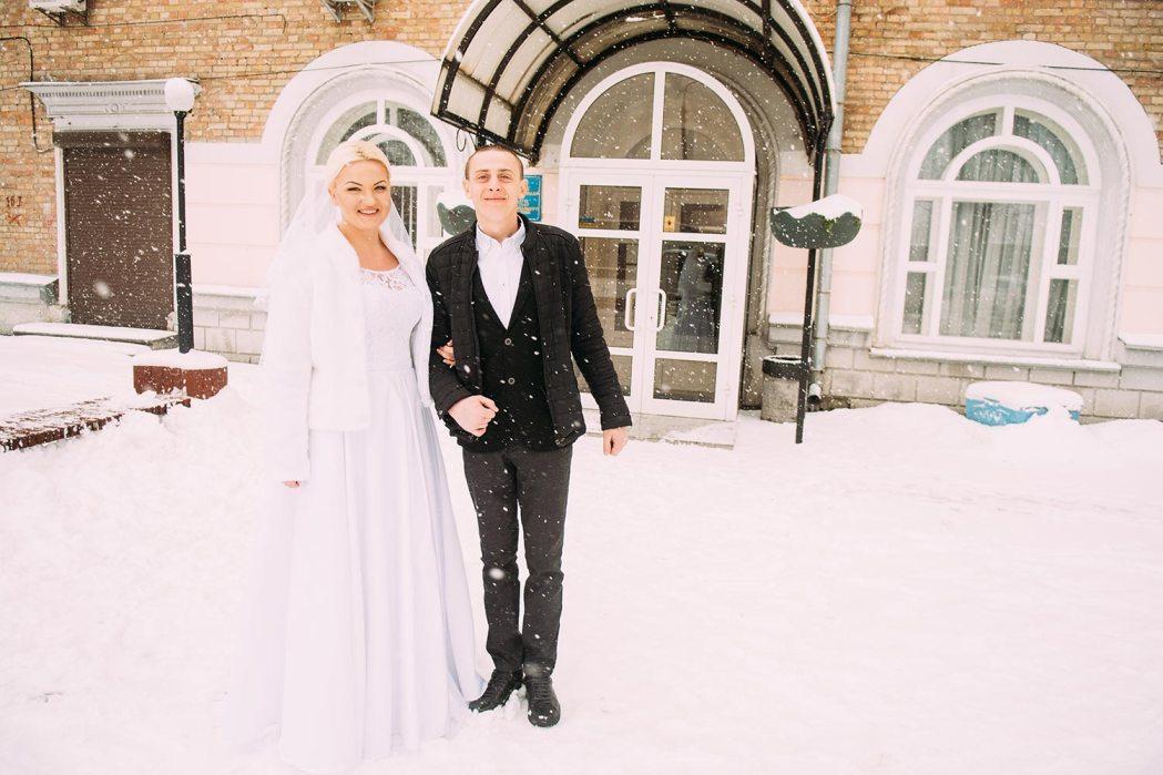 свадьба зимой в Киеве