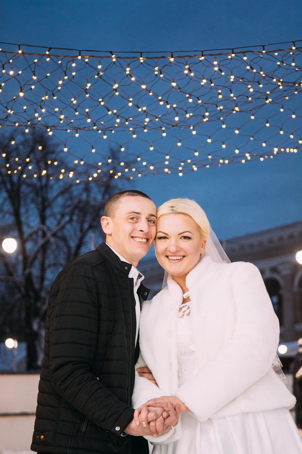Свадьба зимой Подол