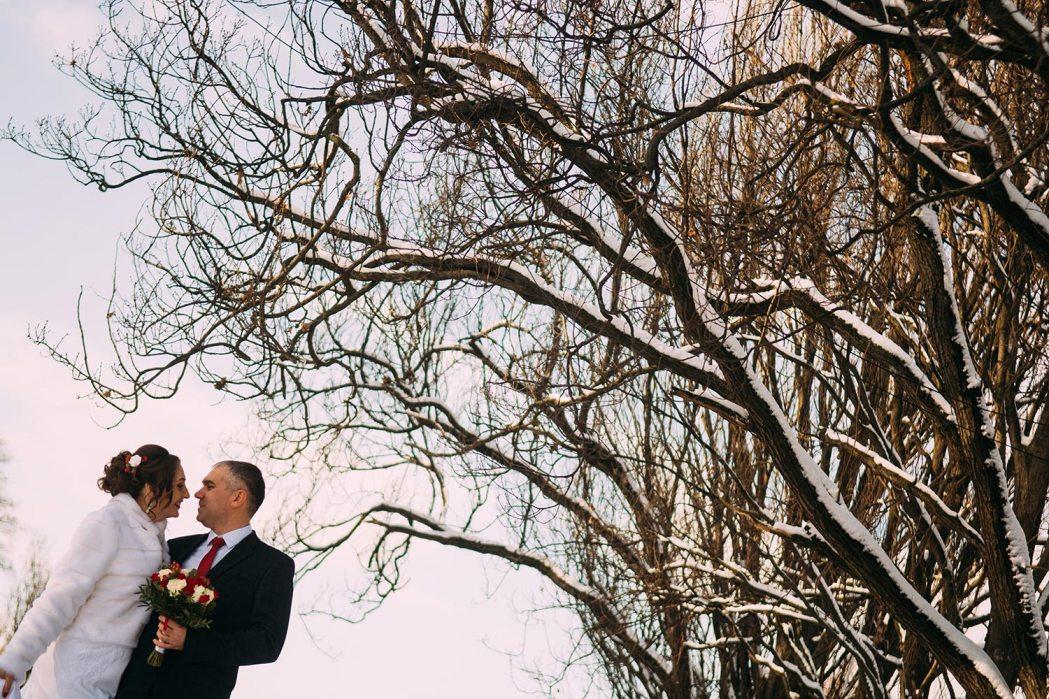 Зимняя фотосессия киев свадьба