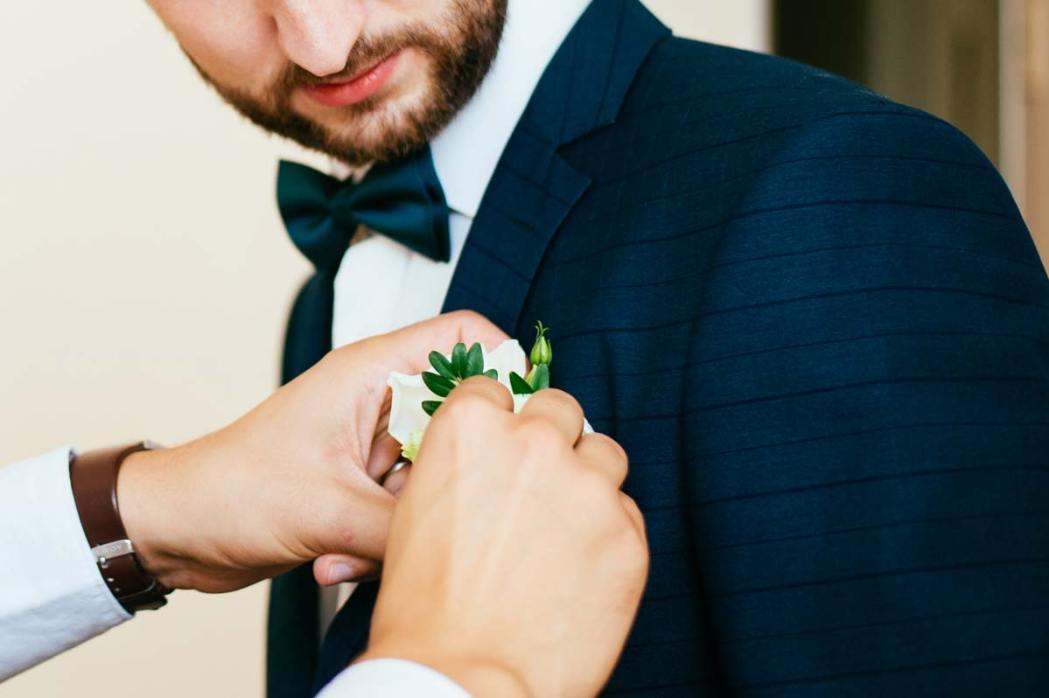 Свадебная фотосессия жениха