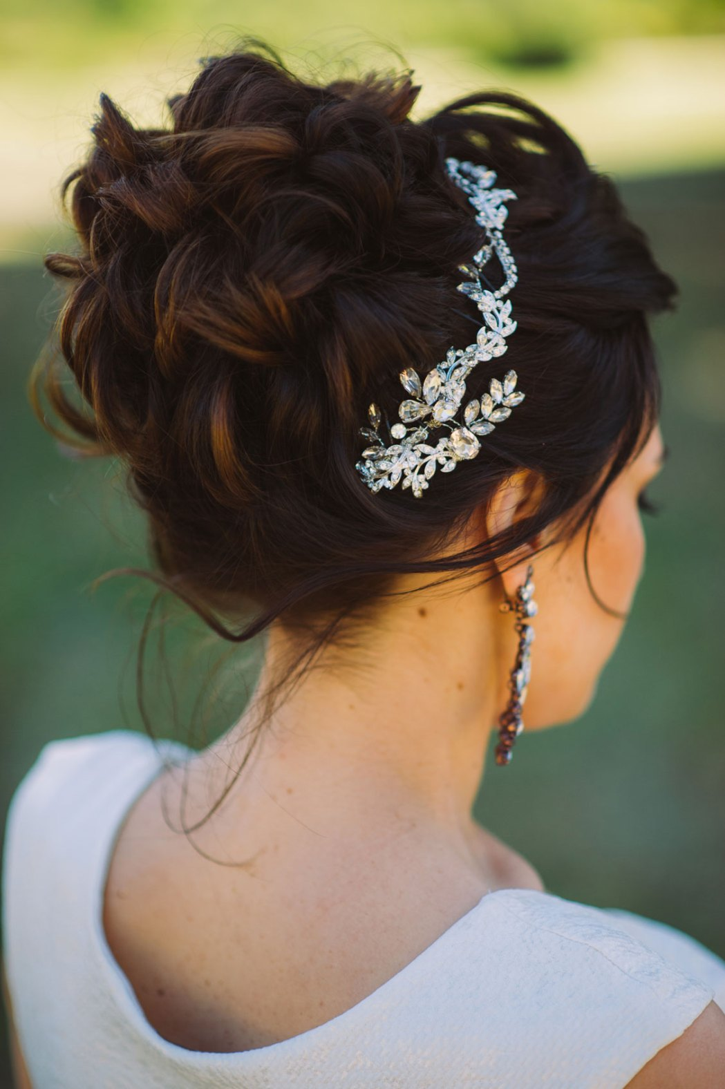 wedding photography bride hair makeup