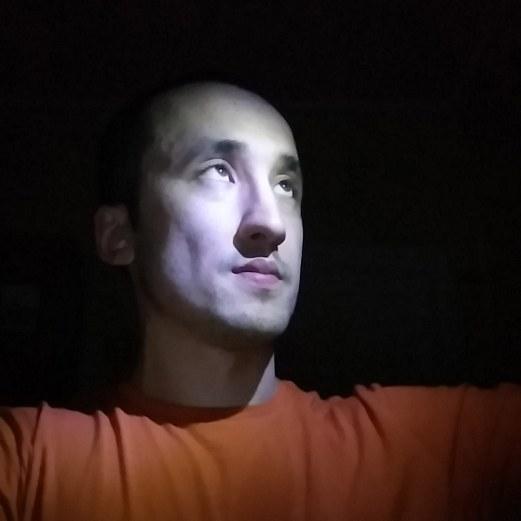 Селфи с наравленным светом