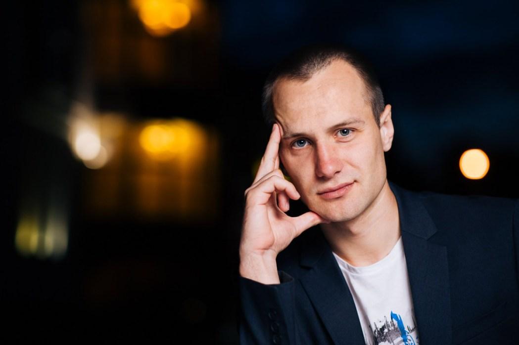 Мужской портрет фотограф Кирилл Тигай
