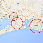 隣街なのに、県を跨ぐと他国だったin愛知・静岡