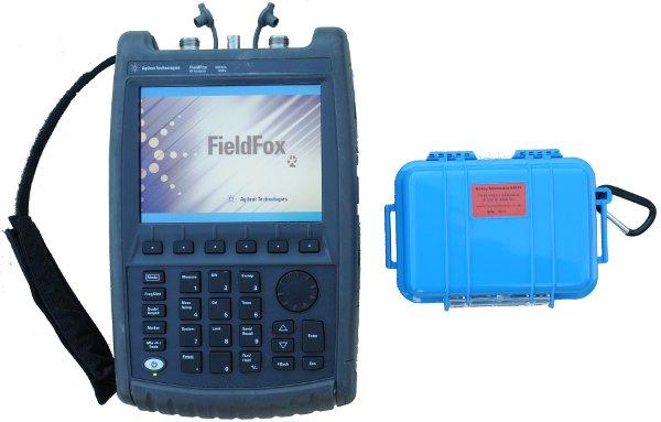 calibration kits on a fieldfox vna or