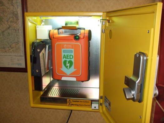 Funding for a public access defibrillator british heart foundation.