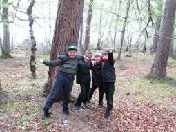 outdoor learning in the woods 050