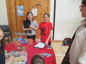 Tuck shop is open!