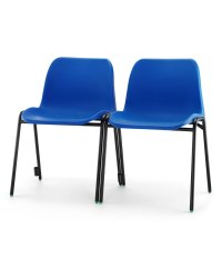 Affinity Plastic Stacking Chair + Link