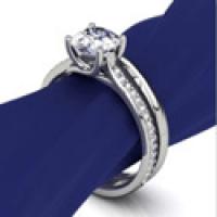 countersketch bridal on blue holder
