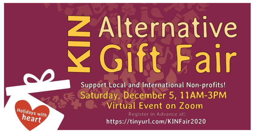 KIN 2020 Alternative Gift Fair