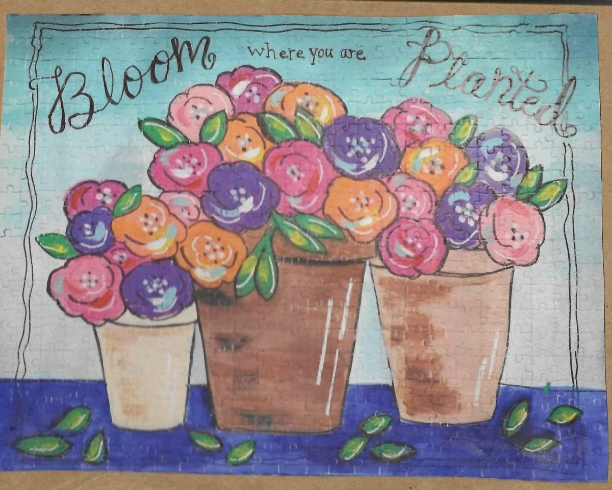 Bloom Where You Are Planted by Karen Collins