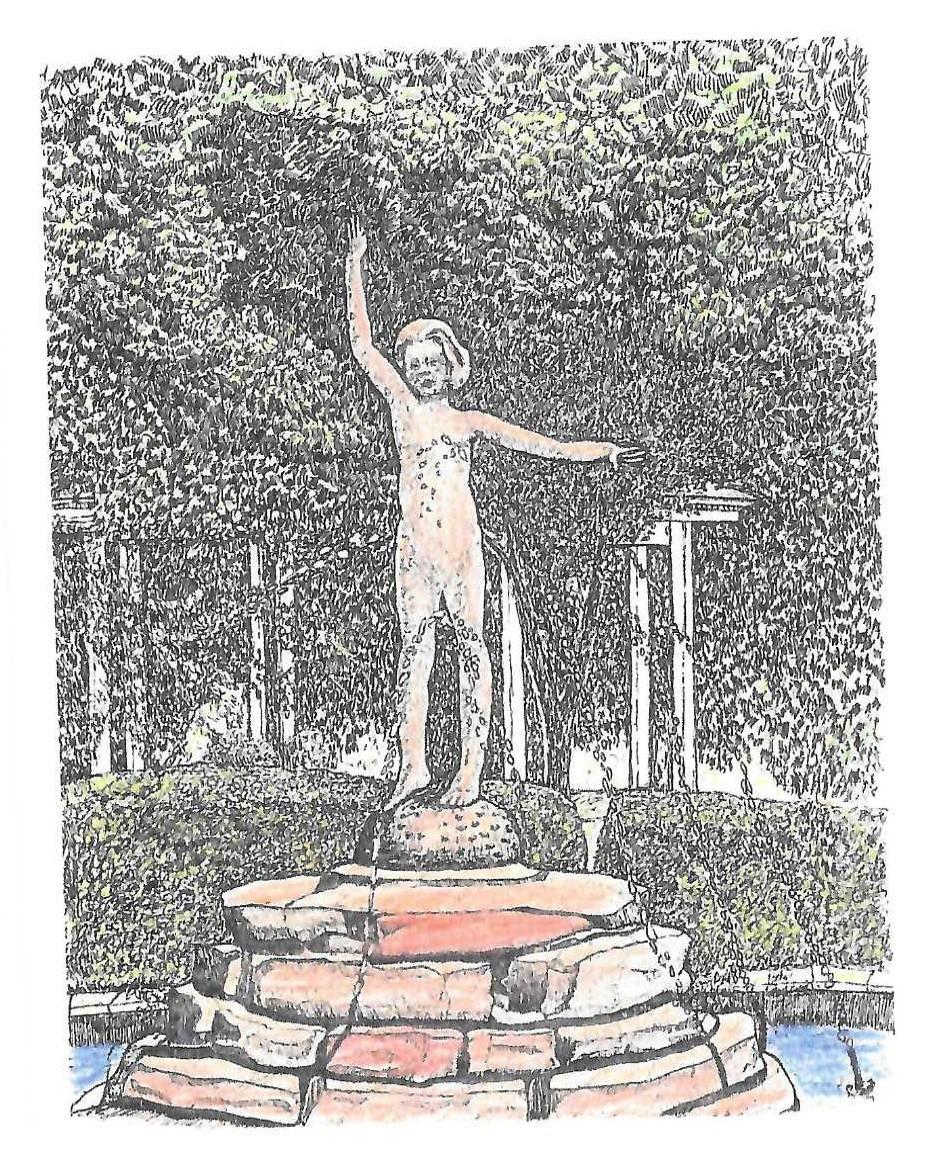 Village Fountain by Tim Pryputniewicz