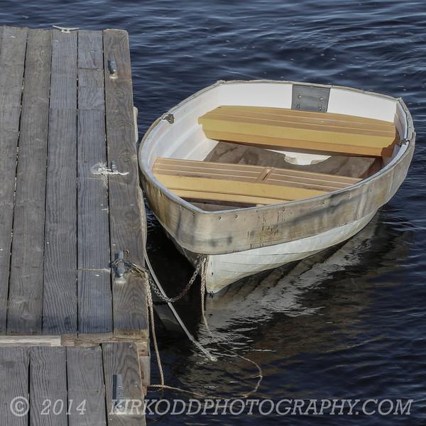 Cute Boat at Camp Ellis