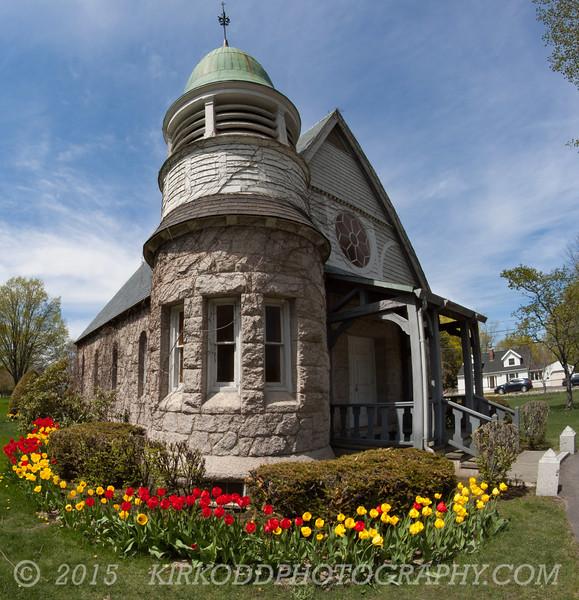Chapel in Laurel Hill Cemetery