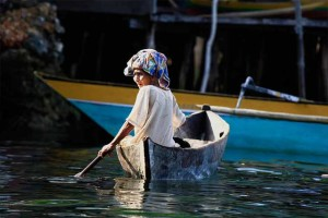 The Bajau – also spelled Bajo - are born and live at sea. They have acertain resilience about them, which is most likely due to having the sea as such a large part of their history.