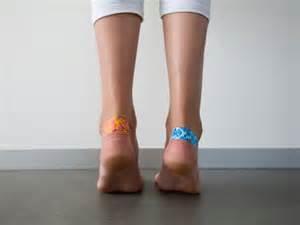 Blistered Heels