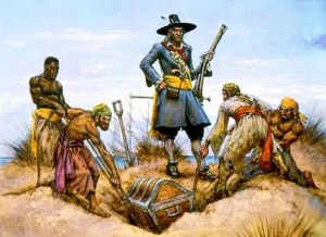 Pirate Captain Kidd Treasure