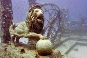 Underwater Cemetery in the U.S