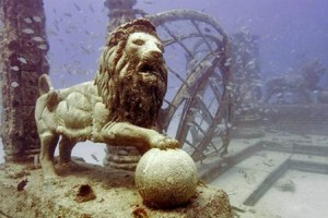 Underwater Cemetery in the U.S