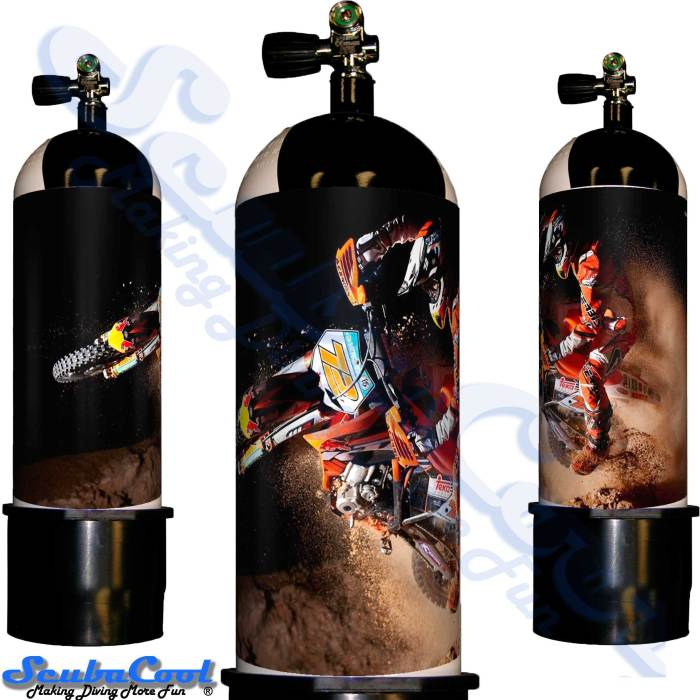 2107 Scubacool Scuba Dive Gas Cylinder Tank Cover NOT neoprene