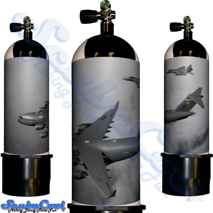 2214 Scubacool Scuba Dive Gas Cylinder Tank Cover NOT neoprene