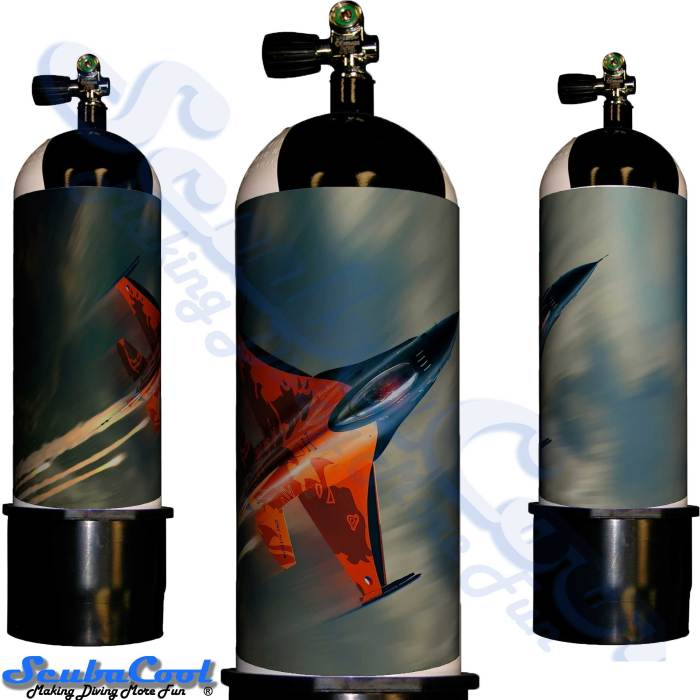 2216 Scubacool Scuba Dive Gas Cylinder Tank Cover NOT neoprene