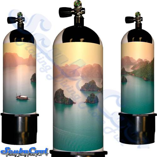 3301 Scubacool Scuba Dive Gas Cylinder Tank Cover NOT neoprene