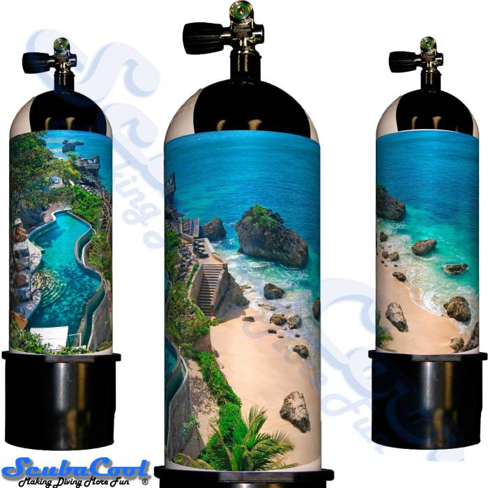 3303 Scubacool Scuba Dive Gas Cylinder Tank Cover NOT neoprene