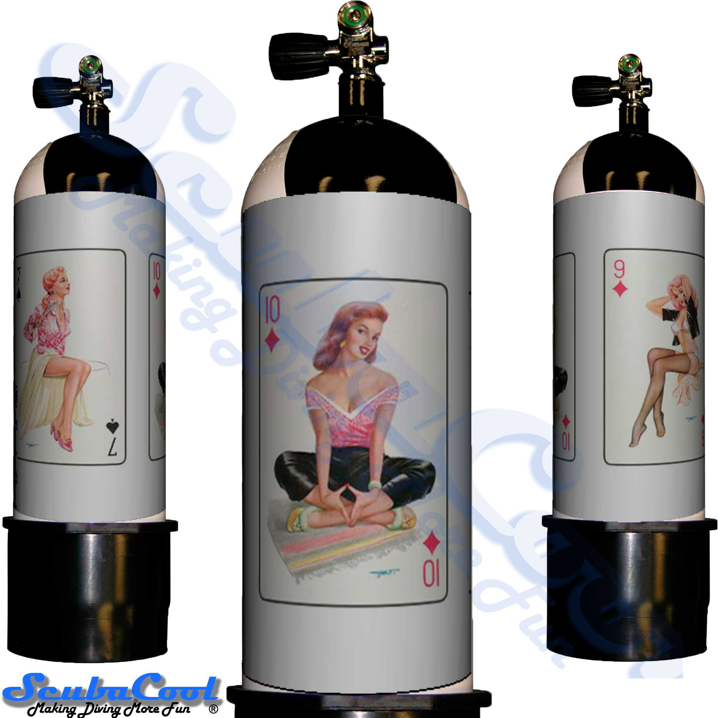 3400 Scubacool Scuba Dive Gas Cylinder Tank Cover NOT neoprene