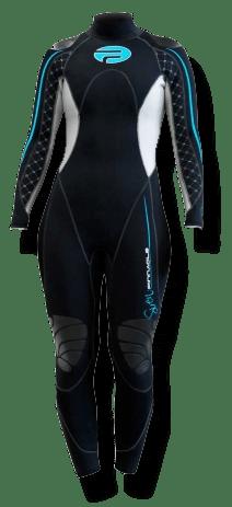 Pinnacle Siren Wetsuit::3mm::5mm::7mm for Scuba Diving