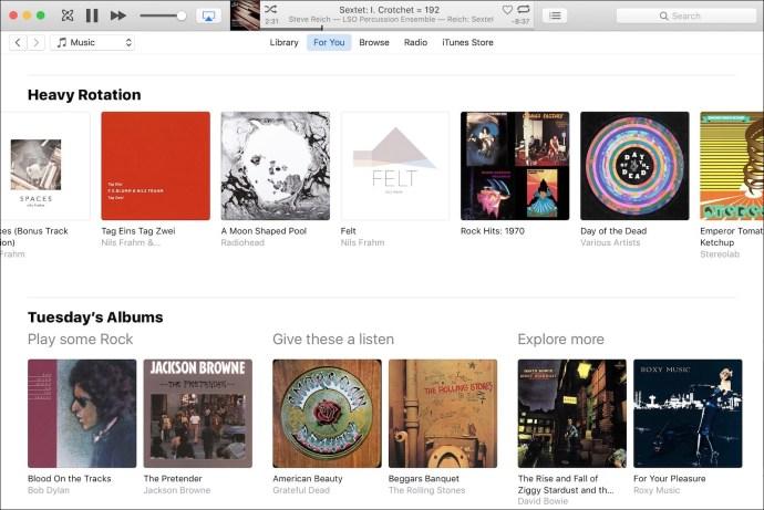 Apple music rotation