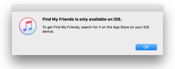 Cant download find friends
