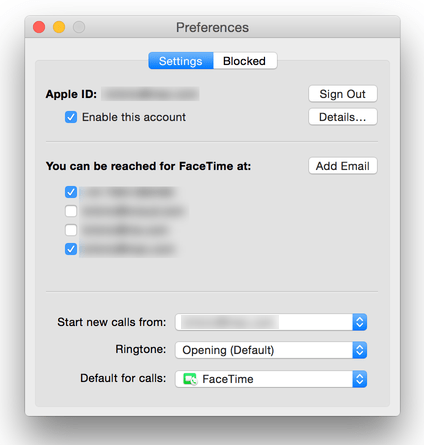 Do you want the Handoff feature to work with FaceTime and iPhone voice calls?