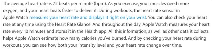 Heart rate tech doc