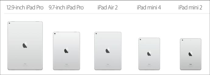Ipad product line