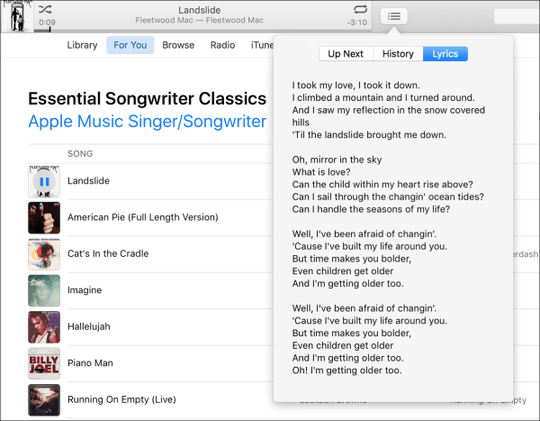 Kirkville - iTunes 12 5 and iOS 10 Music App to Add Lyrics to Song