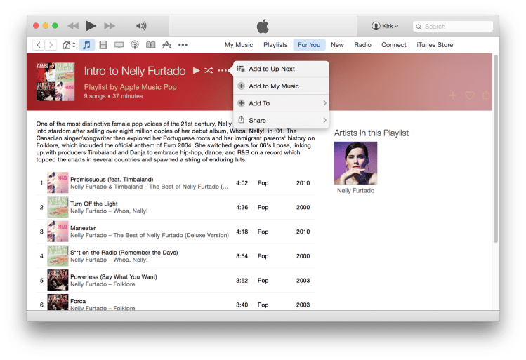Itunes recommendations