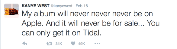 Kanye west tweet2