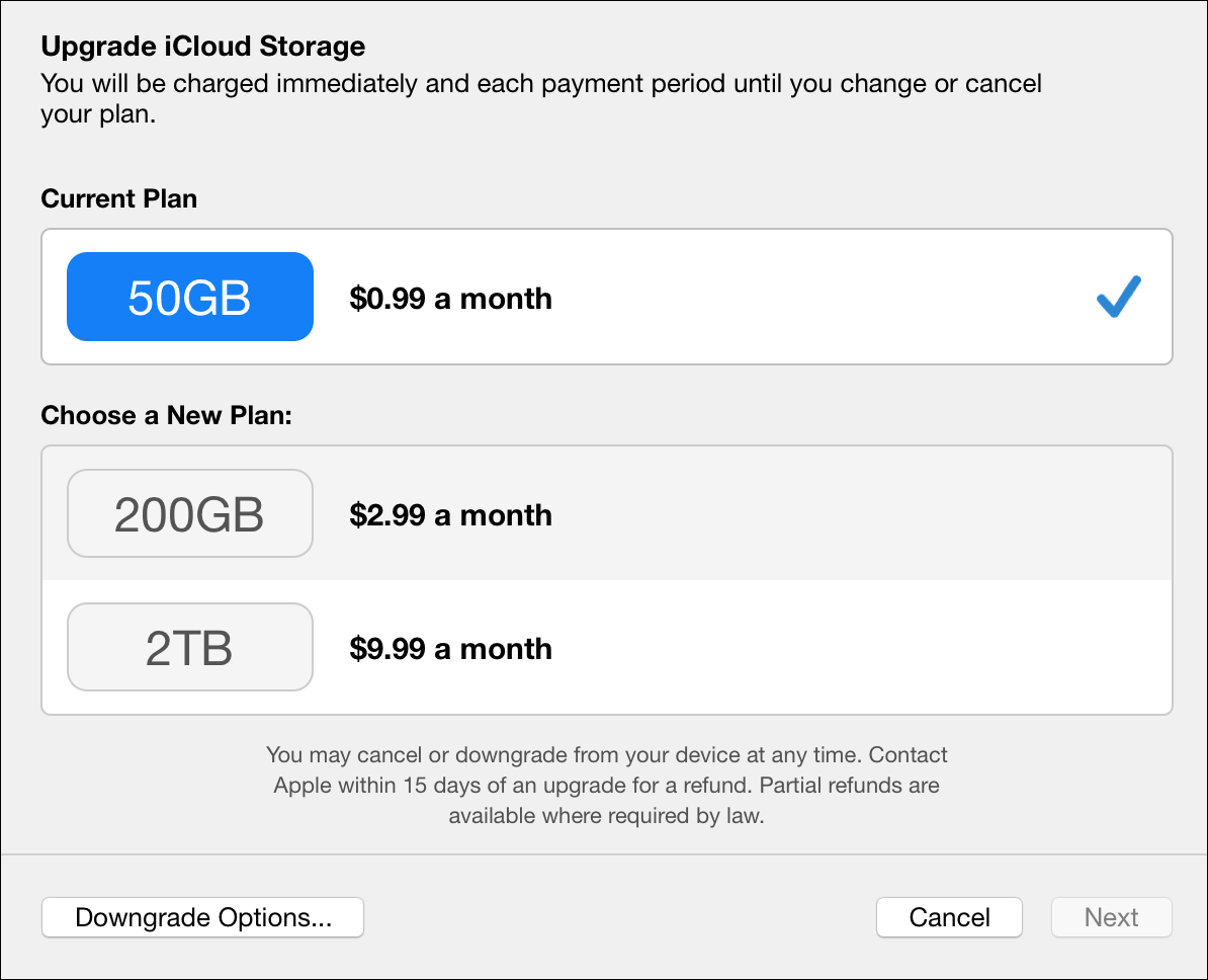 Kirkville - Apple Slashes iCloud Storage Price (at the High End).