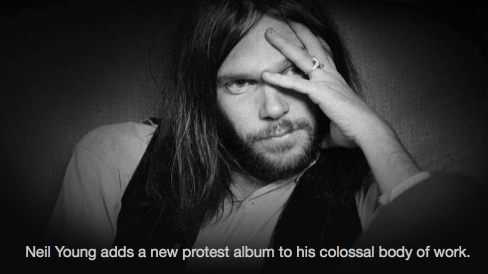 Neil young new