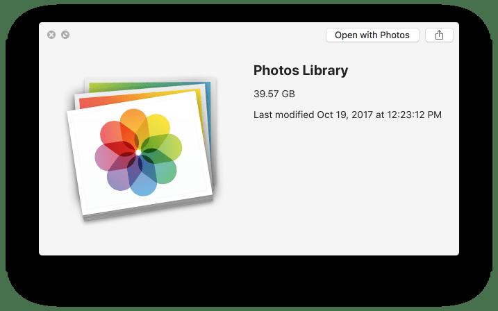 Photos library