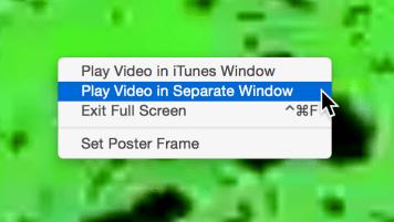 Video full screen