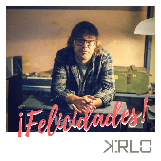 Cumpleaños guitarrista productor Kirlo Dani Sevillano