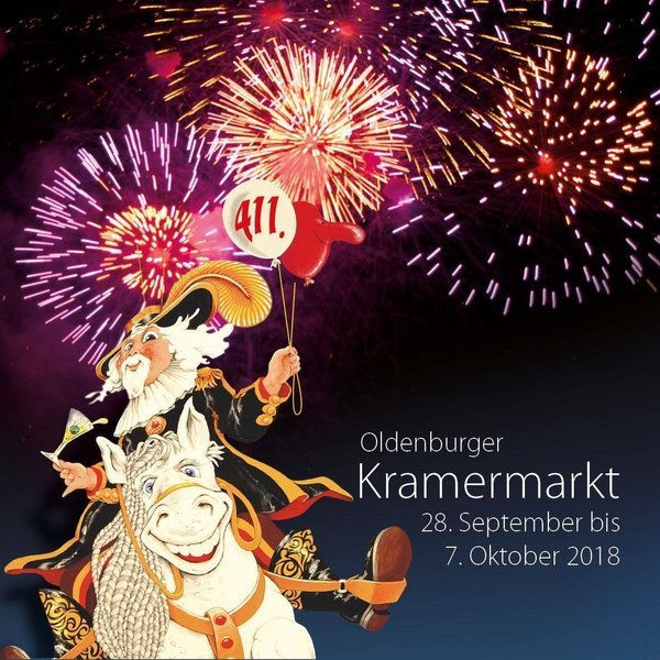 Oldenburger Kramermarkt 2018 Kirmesforumde