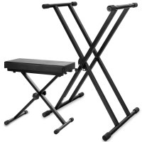 Classic Cantabile Keyboard-SET Deluxe Keyboard Stand ...