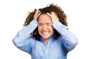 kvinde med ensomheds stress hos Kirsten-K
